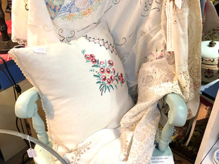 Vintage Doilies and Linens Combine to Make New Heirlooms