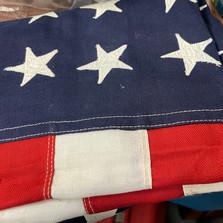 Bull Dog Bunting 48 Star Flag - vendor #13 - $40
