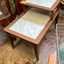 Midcentury 2 tier table - vendor #34 - $29