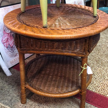 Rattan Table - vendor #14 - $39