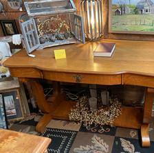 Antique Empire Library Table - vendor #49 - $449