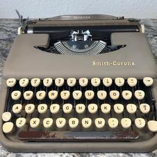 1958 Smith Corona Skyriter - $115