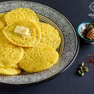 البغرير المغربي بنكهة الهيل والزعفران