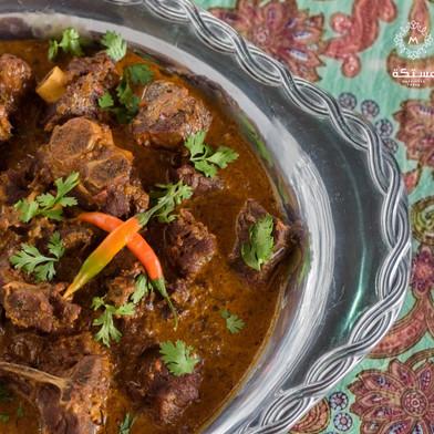 يخنة اللحم بنكهة هندية