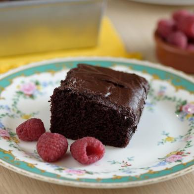 كيكة الشوكولاته من دون بيض