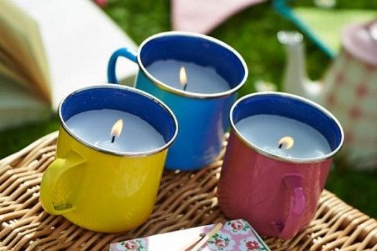 June 25th Mug Candle Making