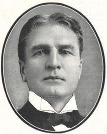 College Portrait William Gillette