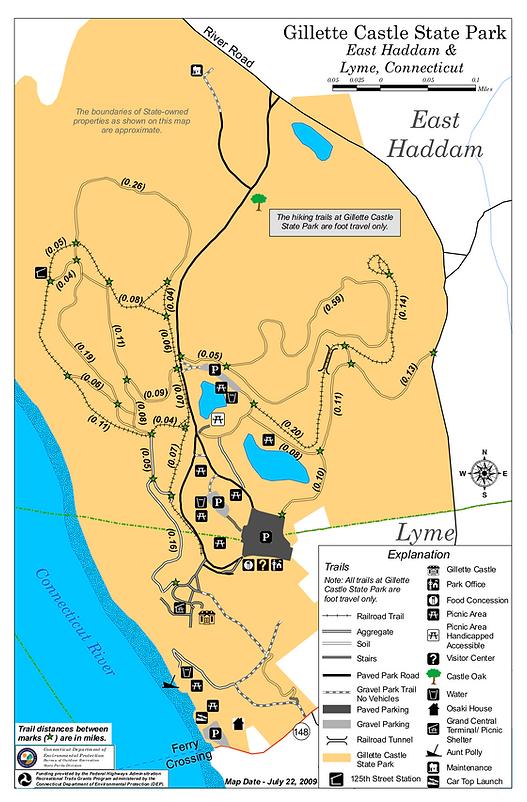 Gillette Castle Hiking Trails