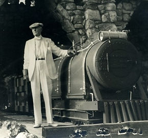 William Gillette Grand Central Statio Train