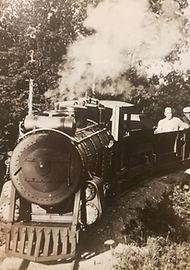 William Gillette Sherlock Holmes Seven Sister Railway Train