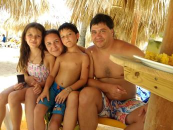 El viaje de María Paz y su familia