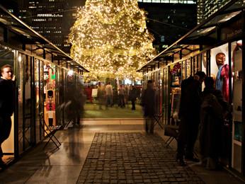 Nueva York ofrece fantásticas opciones de compras navideñas en sus cinco distritos