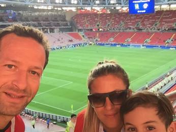 David Trejo & Familia - Rusia COPA CONFEDERACIONES || JUN'17