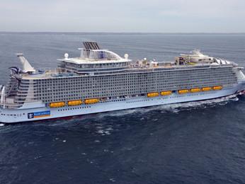 Así es el 'Symphony of the Seas', el crucero más grande del mundo