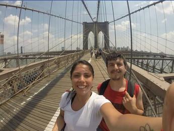 Sol Zemelman y Ricardo Salazar en NYC || JUL'17
