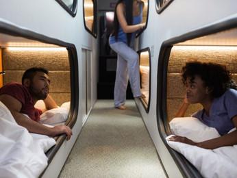 """Estrenan el """"Moving Hotel"""", un nuevo alojamiento sobre ruedas, que ya está haciendo furor"""