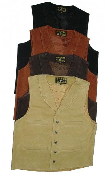 Buffalo Leather Vest