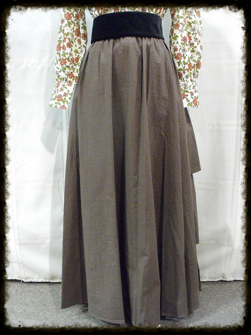 Twill Bustle Skirt (CL360)