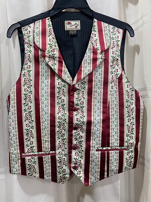 Wallpaper stripe vest (RW562)