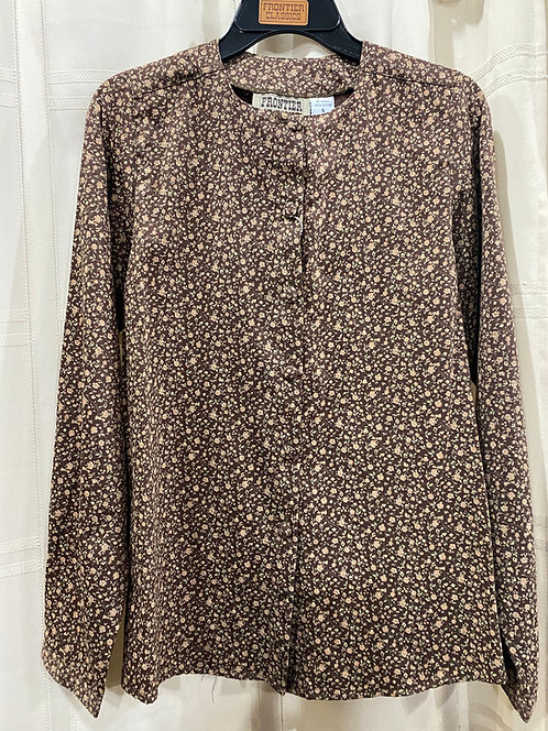 Collarless blouse (CL410)