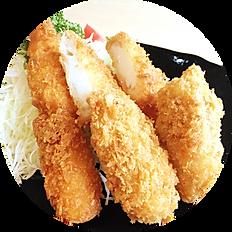 ミックスフライ定食(季節限定)