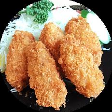 カキフライ定食(季節限定)