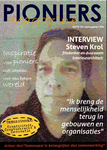 Eigen-zinniger interview Steven Krol