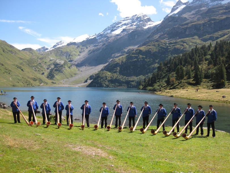 Alphorngruppe Echo vom Stockhorn Thun, Bild 18