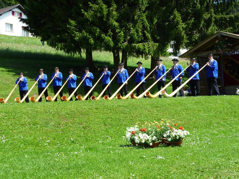 Alphorngruppe Echo vom Stockhorn Thun, Bild 10