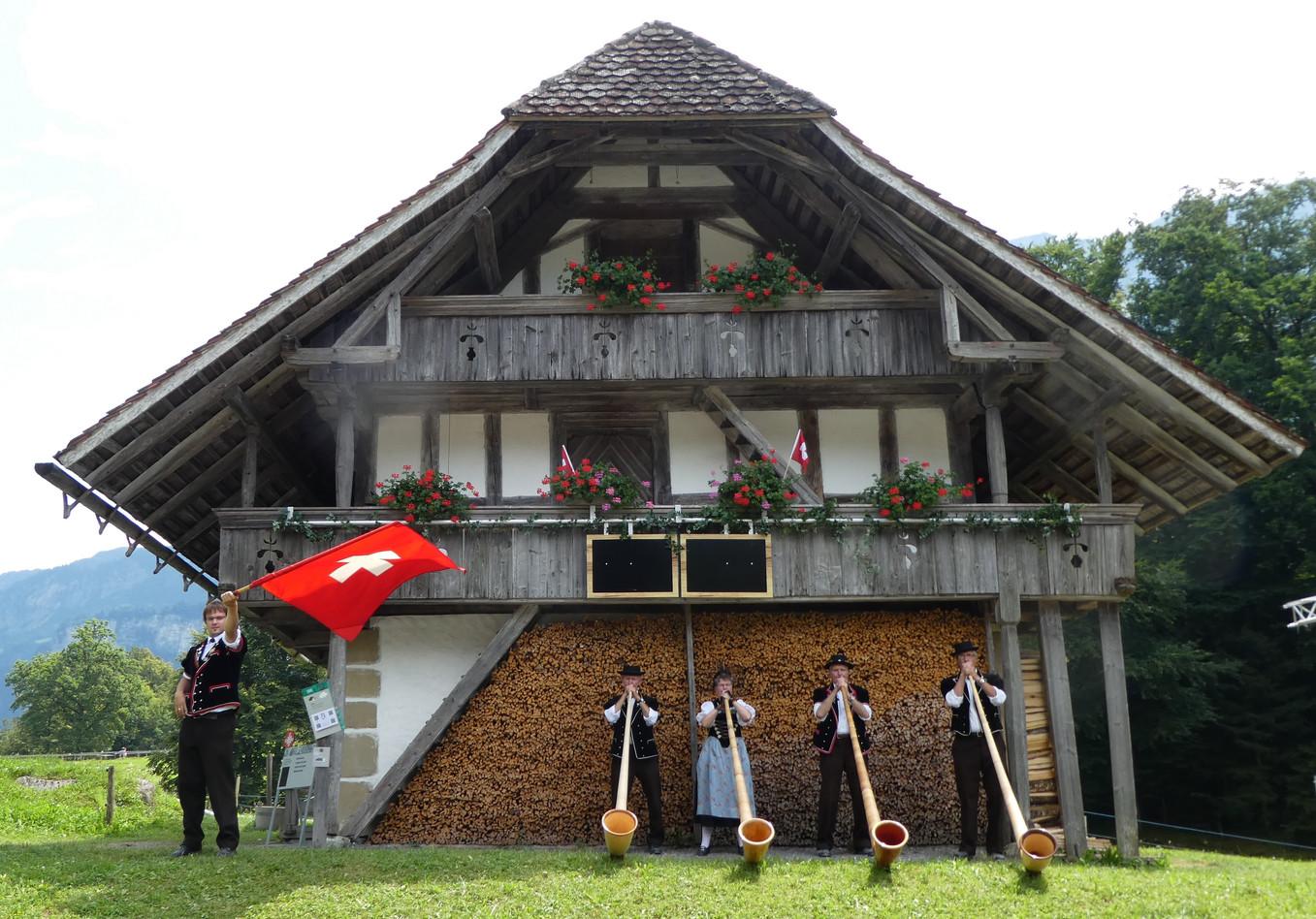 Alphorngruppe Echo vom Stockhorn Thun, Bild 19