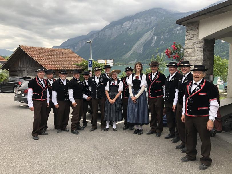 Alphorngruppe Echo vom Stockhorn Thun, Bild 14