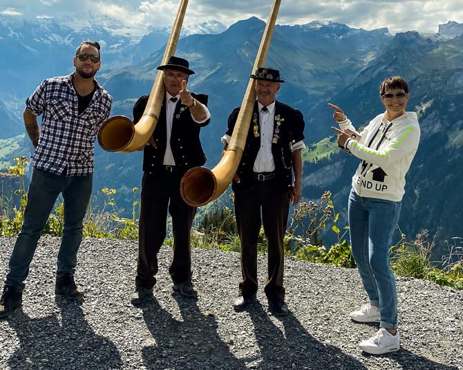 Alphorngruppe Echo vom Stockhorn Thun, Bild 17