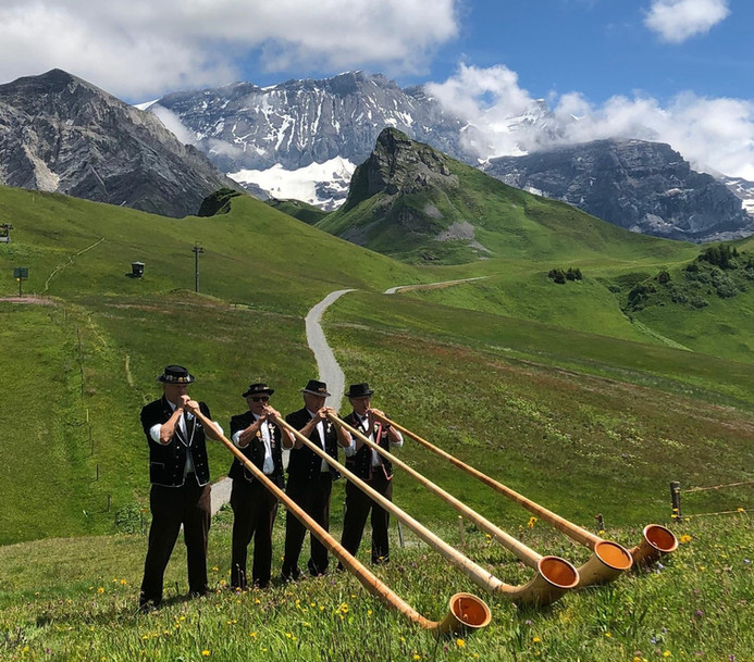 Alphorngruppe Echo vom Stockhorn Thun, Bild 6