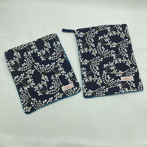 Serviettes de Table en tissu éponge bambou et coton, env. 19x24 (sur commande)