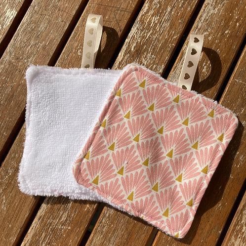 10x10 cm - Lingette Lavable (à l'unité) - 40% Bambou 40% Polyester 20% coton