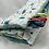 Thumbnail: Couverture SOUS L'OCÉAN en tissu doux Minky et coton, env. 95x70cm