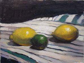 Scott Yeskel, Oil on canvas