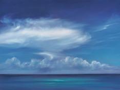 Blue Paradice #3 by Cheryl Kline