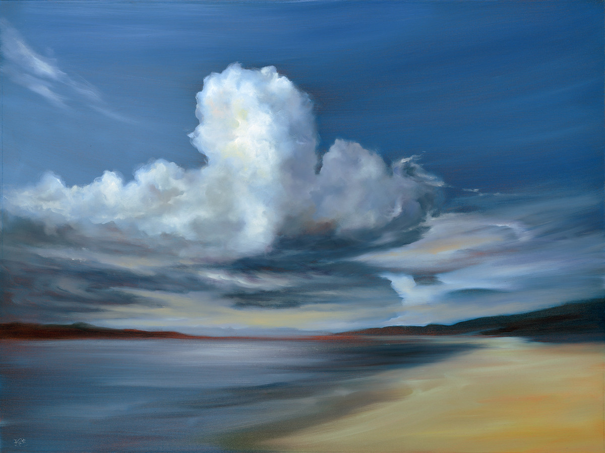 Cheryl Kline painting of clouds