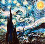 Cheryl's Demo after van Gogh