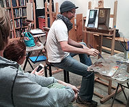 Kline Academy Visiting Instructor Kenny Harris