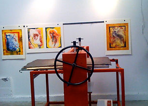 Mono-Print Making Workshop