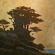 Sharon Weaver, Gold leaf & oil on panel