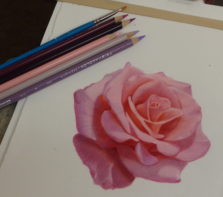 Intro to Colored Pencil