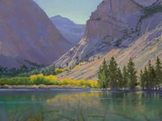 Light at Parker Lake by Sharon Weaver
