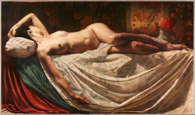 Thomas Garner, Oil on Linen