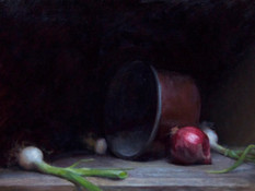 Copper Pot with Onions by William Neukomm