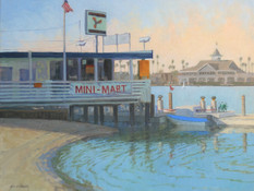 Bayfront at Balboa Island by Sharon Weaver