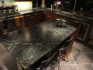 Soapstone Cleaning, Repair, Polishing & Sealing