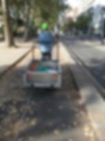 Collecte et recyclage biodéchets vélo triporteur insertion Paris